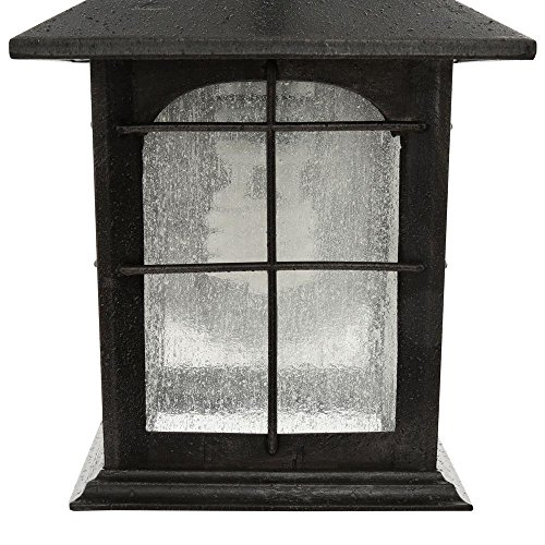 HDC Y37029A 151 Brimfield 1 Light Aged Iron Outdoor Wall Lantern