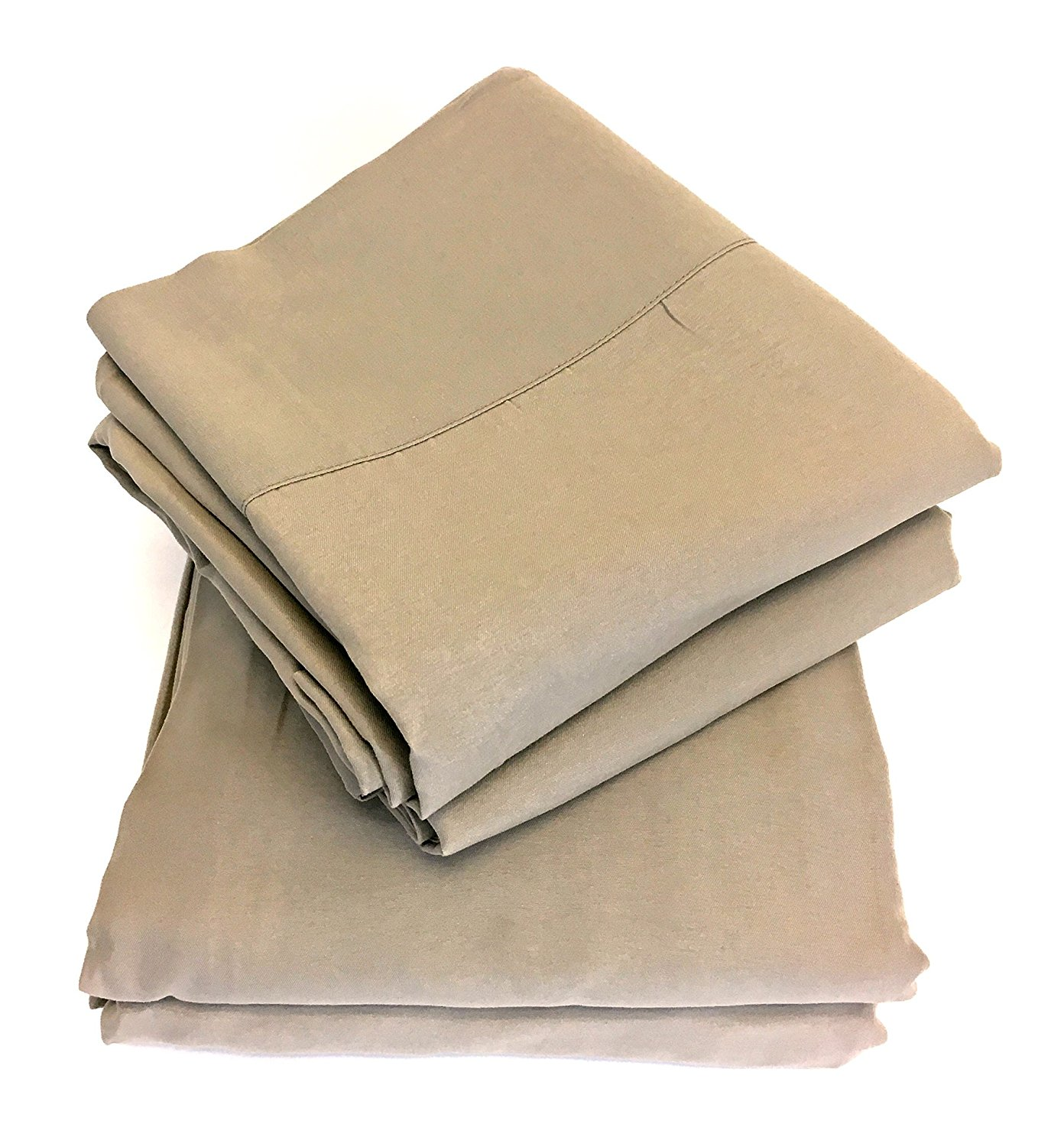 New Domaine Bed Sheet Set Taupe Size King Check