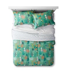 Lolli Living Whale of a Time Comforter Set - Blue Sea - Size: F/Q