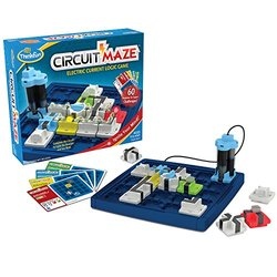 ThinkFun Circuit Maze Electric Current Logic Game 1310964