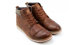 XRay Men's Lace-Up Kimball Boots - Tan - Size: 7.5