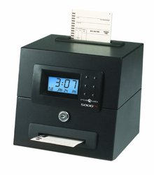 Pyramid Heavy Duty Auto Totaling Time Clock / Date Time Stamper (5000HD)
