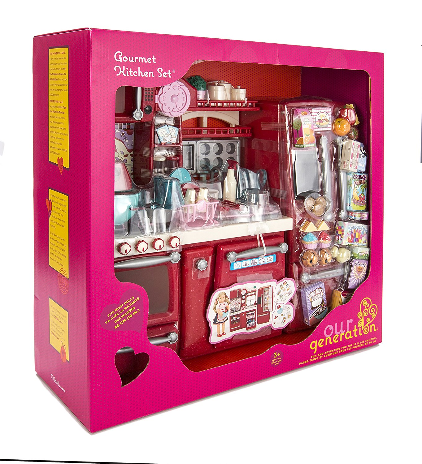 Our Generation BD37086Z Girl\'s Gourmet Kitchen Set Toy - Check Back ...