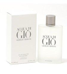 Acqua Di Gio Men By Giorgio Armani EDT Spray - 6.7oz