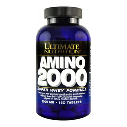 Ultimate Nutrition Amino 2000 Super Whey Formula - 150 Tablets