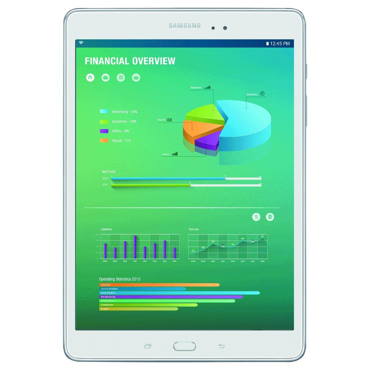 Samsung Galaxy Tab A 8 16gb Android 50 White Sm T350nzwaxar P355 80