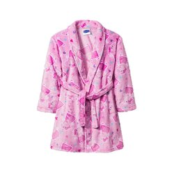 Peppa Pig Girls Toddler Plush Bathrobe Robe Pajamas - Pink - Size: 4T/5T