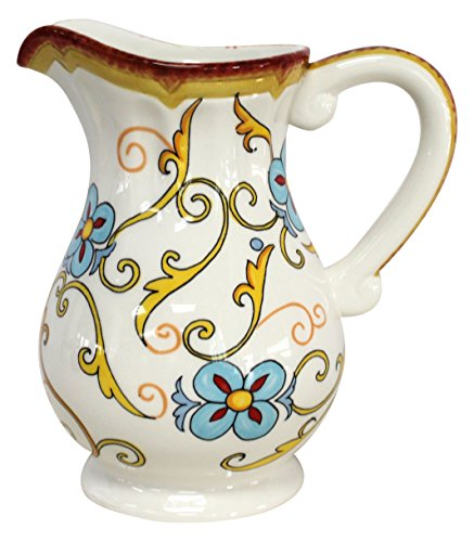 Duomo Decorative Ceramic Water Filtration Pitcher 4040 DUO406329 Delectable Decorative Water Pitcher