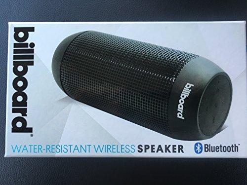Billboard Water Resistant Bluetooth Wireless Speaker - Black