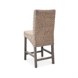 Incredible Mudhut Andres 24 Hardwood Counter Stool Gray Check Back Short Links Chair Design For Home Short Linksinfo
