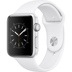 Apple Watch Series 2 42mm with White Sport Band (MNPJ2LL/A) 1329497