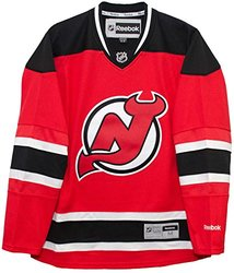 NHL New Jersey Devils Premier Jersey, Red, Large 1331331