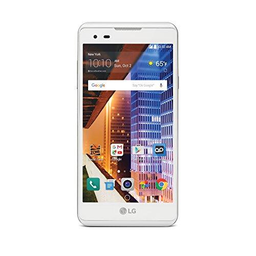 Boost LG Tribute HD 16GB Android Smartphone - White (LGLS676ABB)