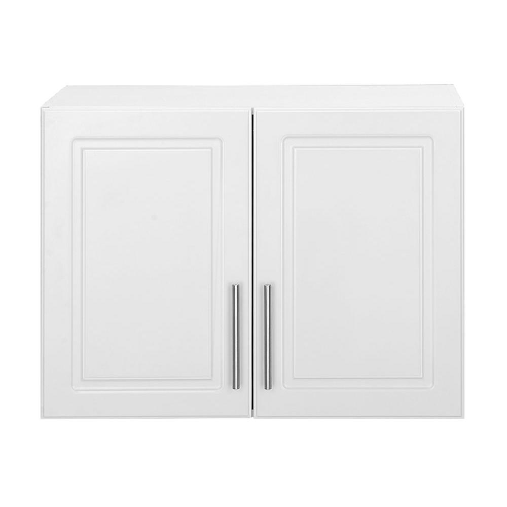 Hampton Bay Select 24 H 2 Door Mdf Wall Cabinet White Check