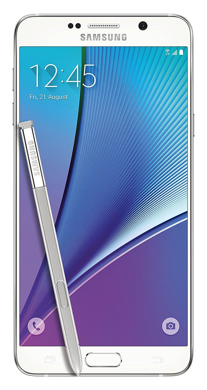 Unlocked Samsung Galaxy Note 5 32GB Andriod Smartphone - White (SM-N920A)