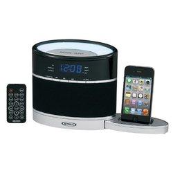 Jensen Docking Clock Radio w/ Night Light for iPod/iPhone -JiMS-185i)