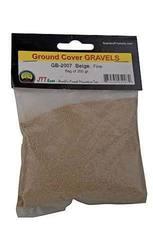 JTT Scenery Fine Gravel Bag - Beige - 200 Grams (95207)