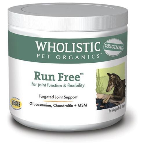 Wholistic Pet Organics Run Free Dog Supplement
