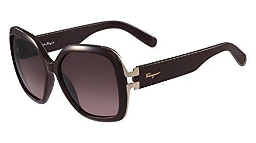 64b96fe6f8 Salvatore Ferragamo Women s Sunglasses - Burgundy Frame - 56mm ...