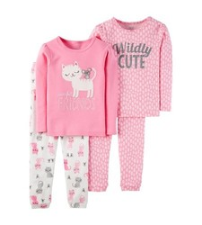 fde662821 Carter s Just One You - Girl s Cat   Mouse Pajama Sets - Size  3T ...