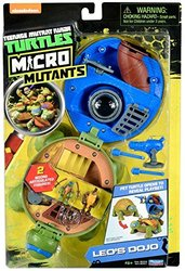 Teenage Mutant Ninja Micro Leonardo's Dojo Pet Turtle Playset 1347470