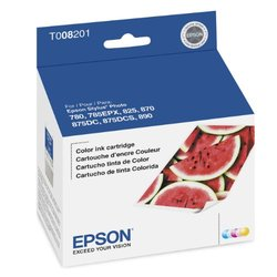 Genuine Epson T008 Color Ink Cartridge (T008201)