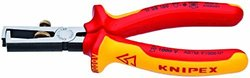 KNIPEX 11-08-160-SBA 1000V Insulated End-Type Wire Stripper