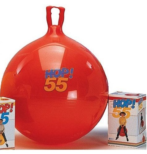 rouge Gymnic Super Hop 55 Spring BALL