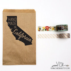 Made In California Wooden Stamp - Master Pack of 32