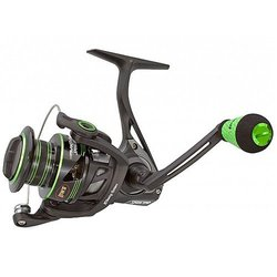 Lew's Fishing Mach II Metal Speed Spin Spinning Reel with 300 6.2:1 Gear Ratio & 10 Ambidextrous Bearings