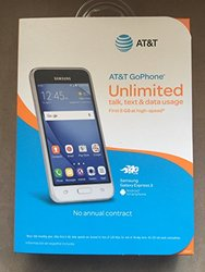 """Samsung Galaxy Express 3 4.5"""""""" AT&T Prepaid 8GB Andriod (R0A-E2R-B1M)"""" 1356386"""