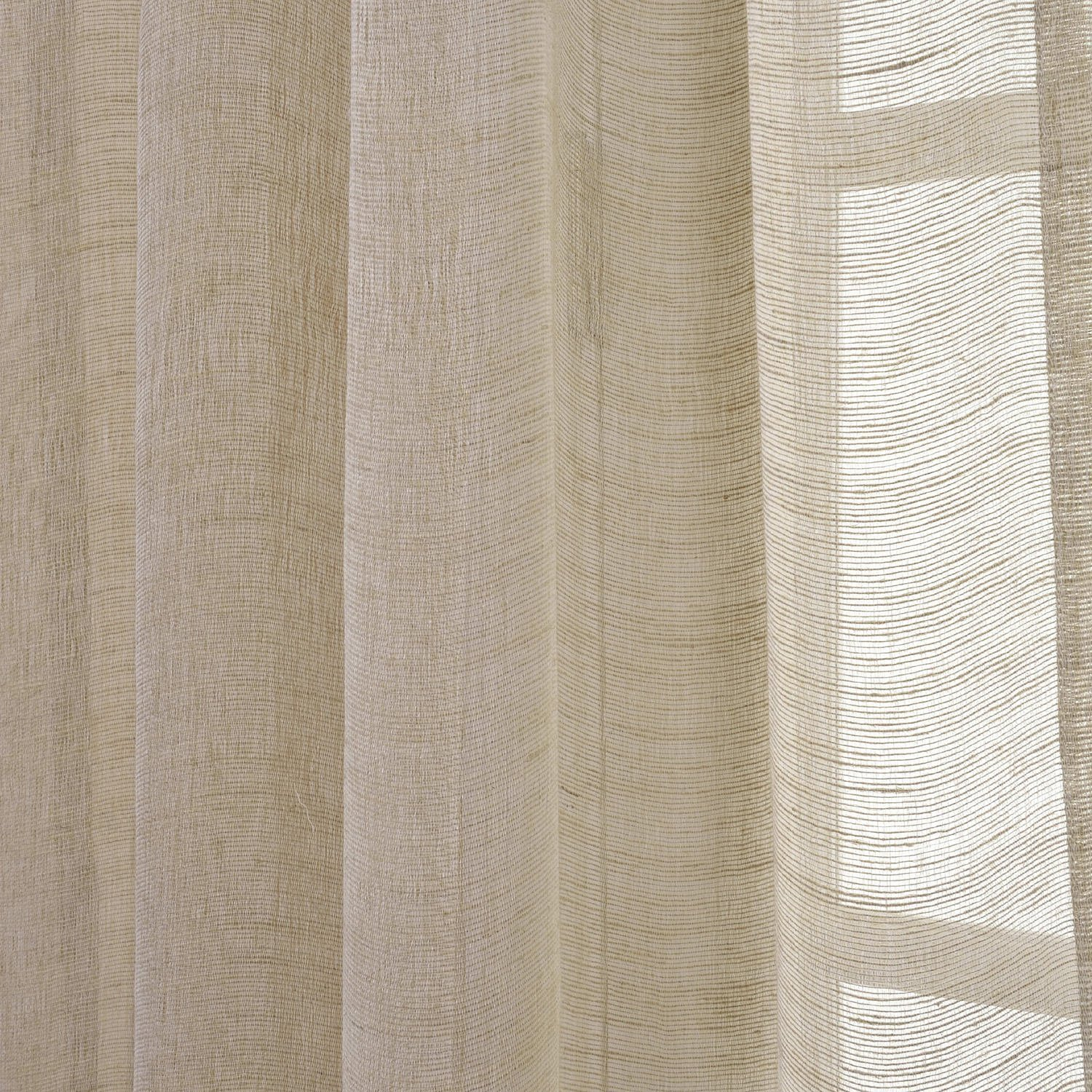 Half Price Drapes Linen Sheer Curtain Open Weave Natural Size 50 X96 Check Back Soon Blinq