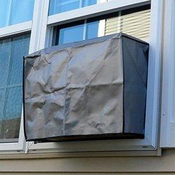 Evelots Heavy Duty Outdoor Air Conditioner Cover - Grey (6850) 1358612