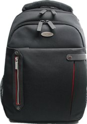 "Eco Style Carrying Case/ Backpack for 16.4"" Notebook - Red/ Black"