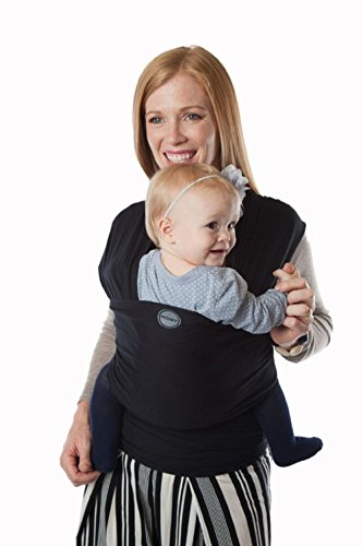 3e726a58777 Moby Wrap Evolution Soft Baby Carrier Wrap - Black - Check Back Soon ...