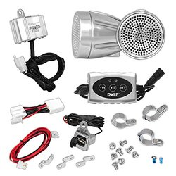 600 Watt Bluetooth Sound System for Motorcycle, ATV and Snowmobile