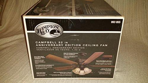 Hampton Bay Campbell 52 In. Ceiling Fan