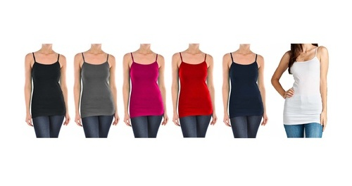 f4348a9ade2 Chalmon s LLC Ladies Plus Size Slimming Camisole - 6 Pack - Size 2XL ...