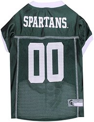 Officially Licensed NCAA Pet Jerseys: Michigan State Mesh - XLarge 1380237