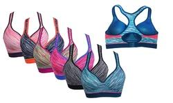 EAG Women's Sports Bra Set - Pack of 6 - Multi - Size: 40D