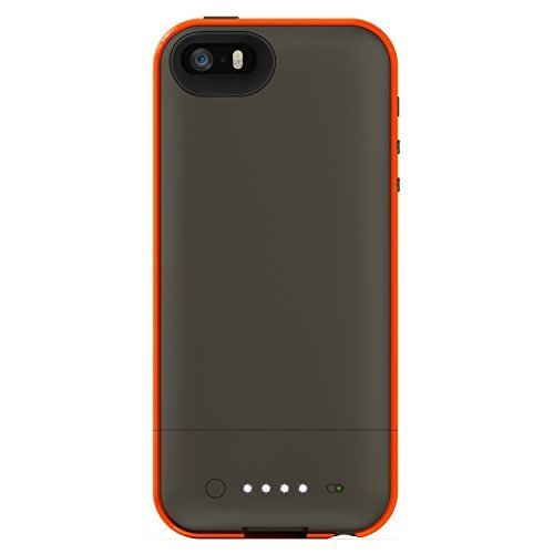 super popular eae21 11966 mophie Juice Pack Plus Outdoor Edition for iPhone SE/5/5s (Orange ...