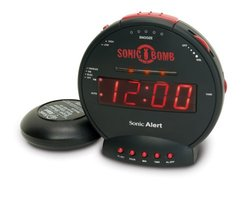Sonic Boom Loud Plus Vibrating Alarm Clock SBB500ss