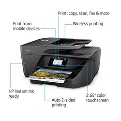 HP Officejet Pro 6968 Inkjet Color Printer/Scanner/Copier/Fax (T0F28A#B1H)