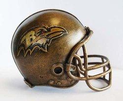NFL Baltimore Ravens Desktop Helmet Statue