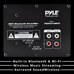 "Pyle Pro Psbv210Wifi 23.8"""" Wi-fi Bluetooth  SoundBar"" 1207421"