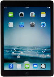 "Apple iPad Air 9.7"" Tablet 16GB WiFi - Black/Space Gray (MD785LL/B)"