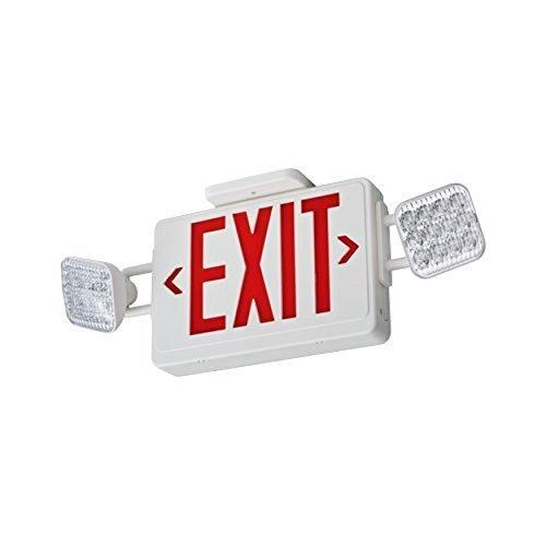 Lithonia Emergency Egress Lighting: ECR LED M6 Select Thermoplastic LED Emergency Exit Sign