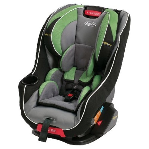 Graco Head Wise 65 Car Seat With Safety Surround Protection Lucky Green