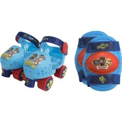 Paw Patrol Unisex Roller Skates with Knee Pads 1405953