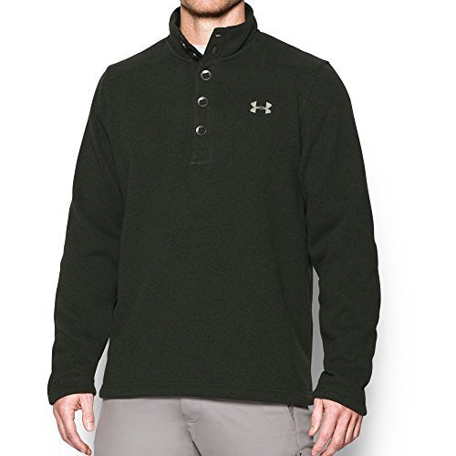 Under Armour Mens Specialist Storm Sweater Greengreystone Size